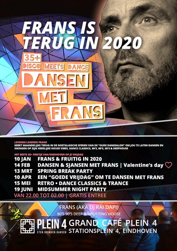 Dansen met Frans terug in 2020
